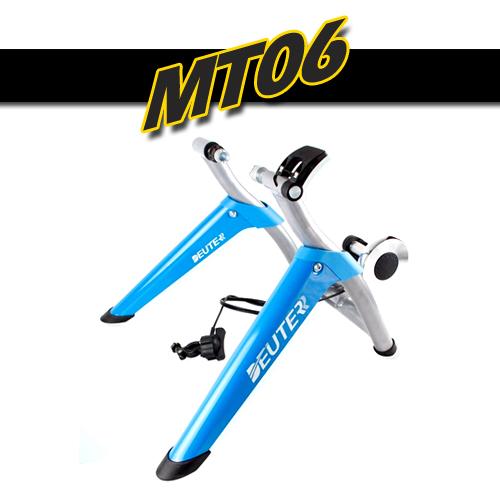 เทรนเนอร์จักรยานรุ่นมีรีโมทปรับความหนืด MT-06