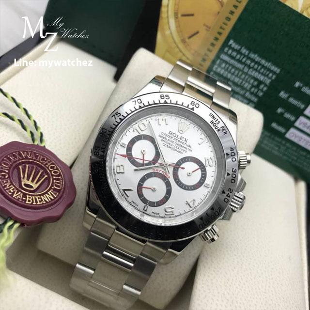 Rolex Daytona Cosmograph REF# 116509 - Silver Dial
