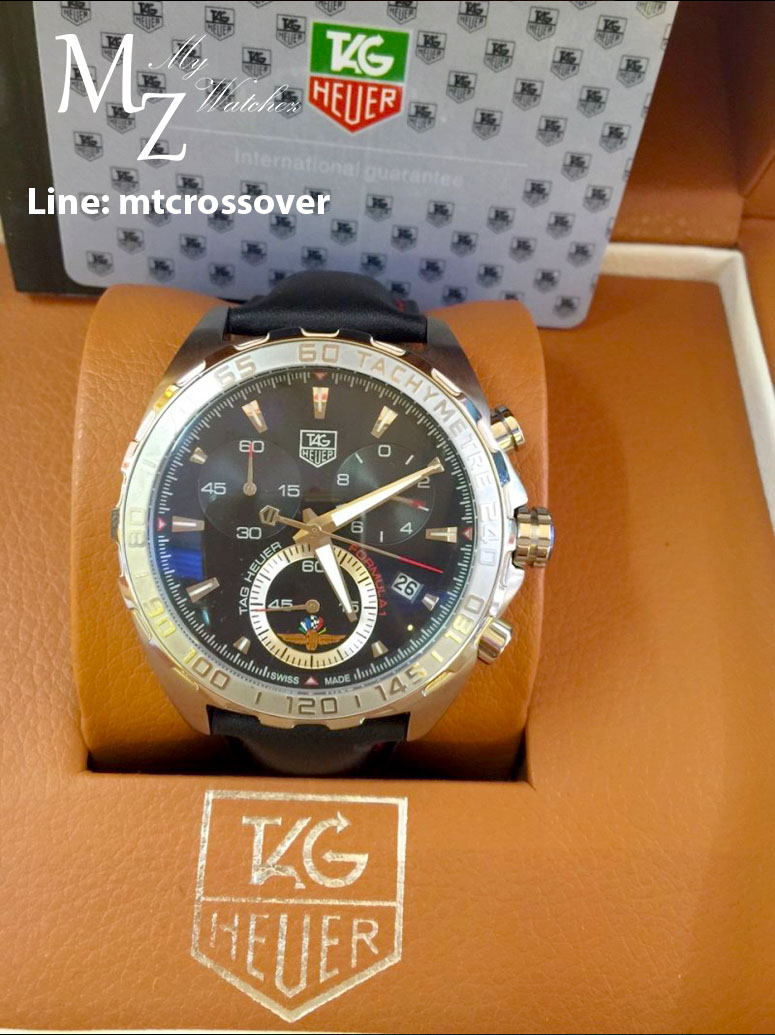 Tag Heuer Formula 1 Anniversary - St Stainless Case and Black Leather Band