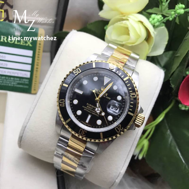 Rolex Submariner Two-Tone 16610 - Black Dial
