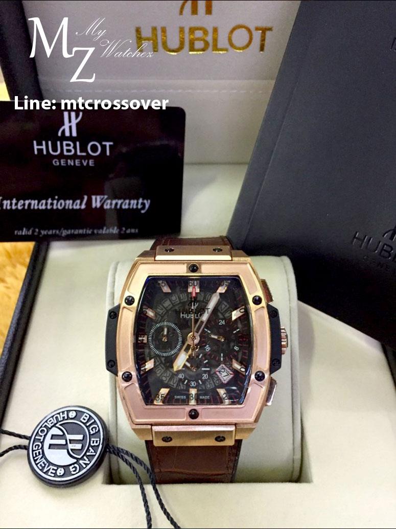 Hublot Mp-06 Aryton Senna Champion 88 - Black Dial Pink Gold