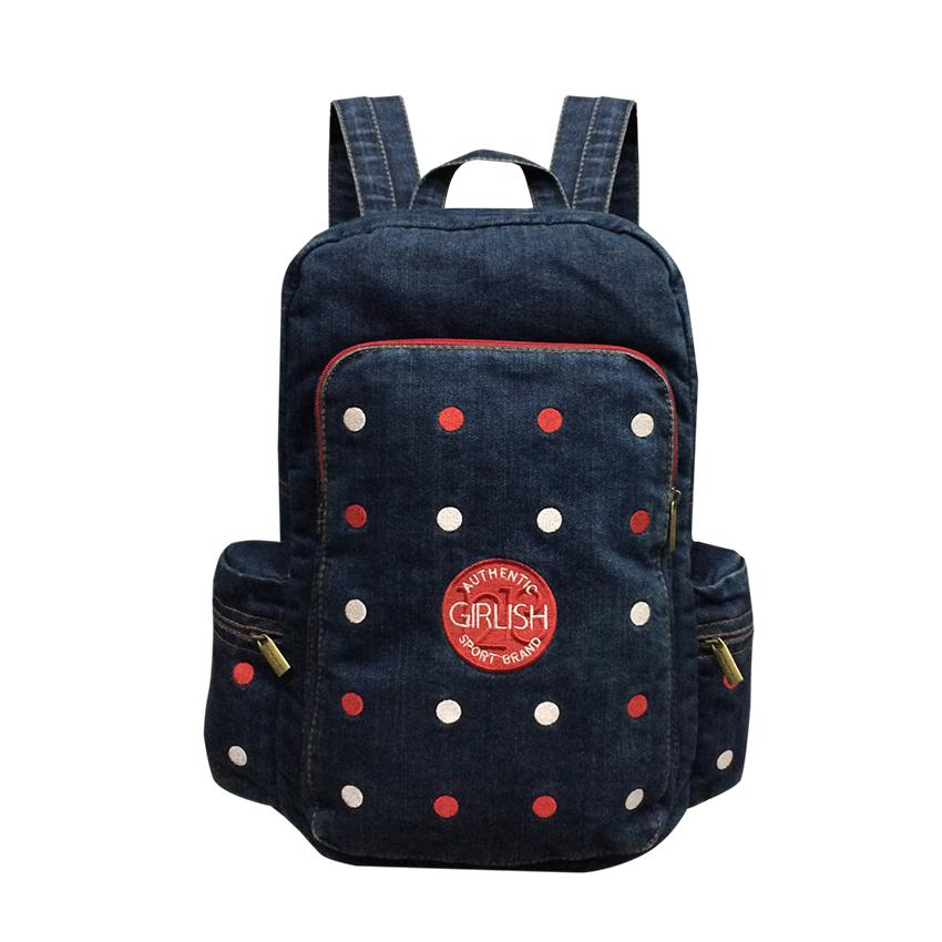 Jeans, Denim Backpack, Spot colors
