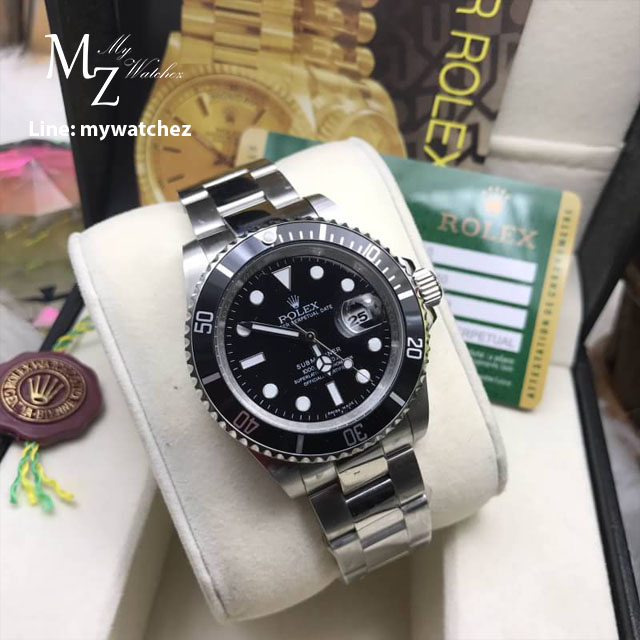 Rolex Submariner Stainless 16610 - Black Dial
