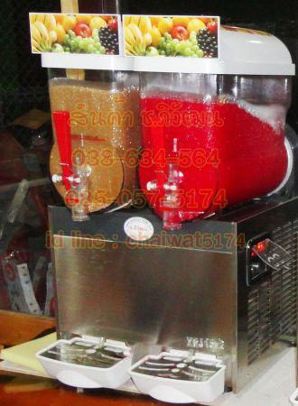 เครื่องทำสเลอบี้2หัวหัวละ15ลิตร