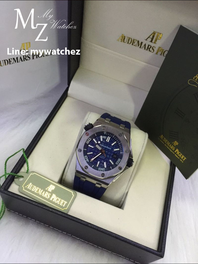 Audemars Piguet Royal Oak Offshore Diver - Blue Edition