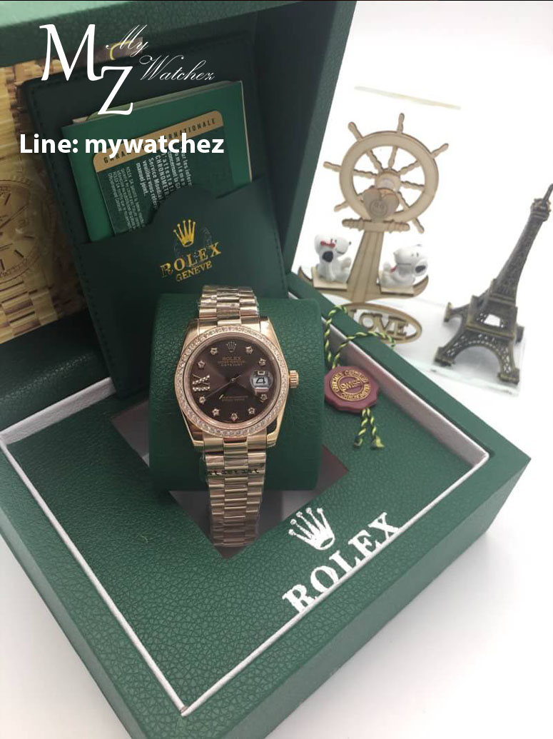Rolex Lady Datejust - 279135RBR Rose Gold