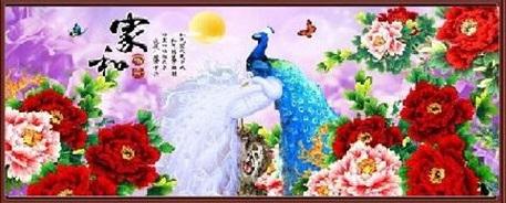 Peacock&Peony (พิมพ์ลาย)