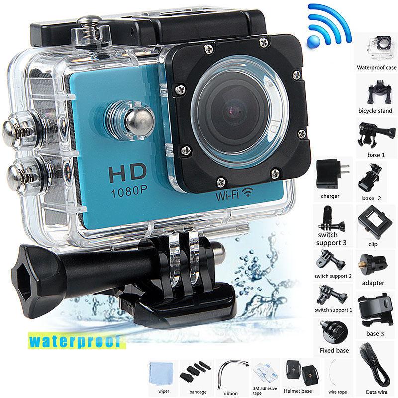 กล้อง Action Camera - รุ่น SJ4000 รุ่น WIFI แท้ 100%