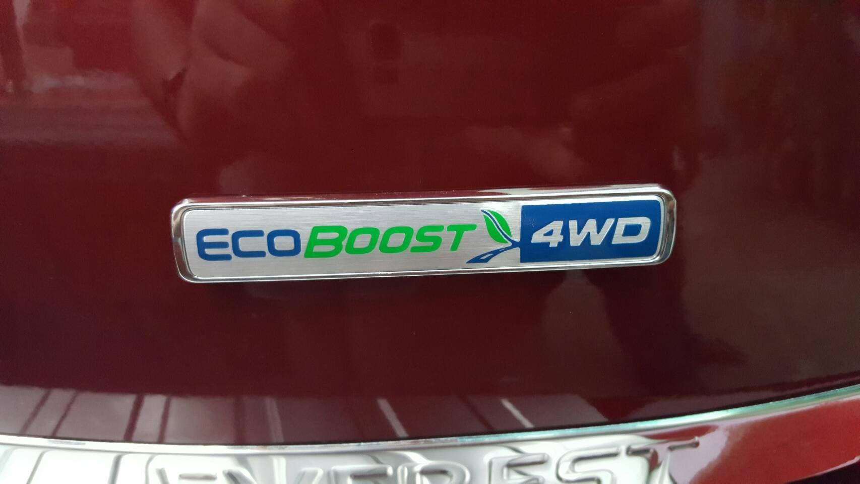 ตัวอักษร ECOBOOST 4WD แท้