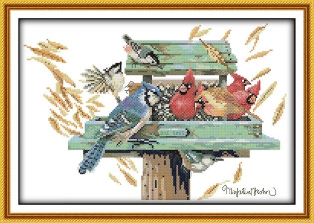 Birds love nest (ไม่พิมพ์/พิมพ์ลาย)