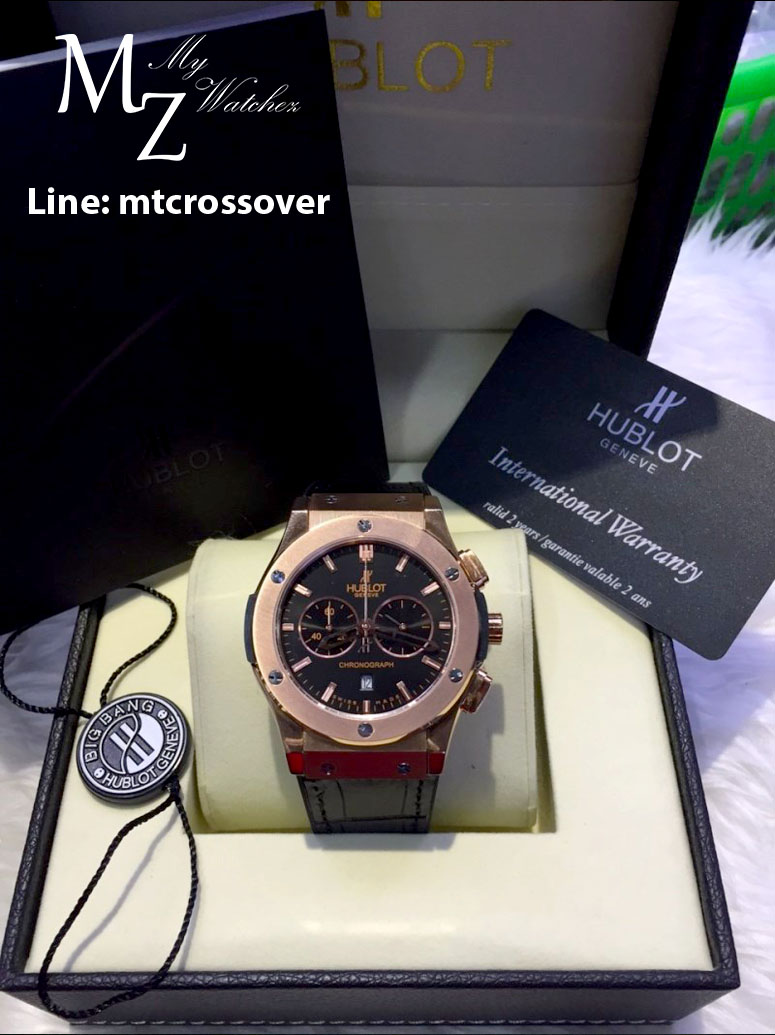 Hublot Big Bang Classis Fusion Chronograph King Gold 45 MM