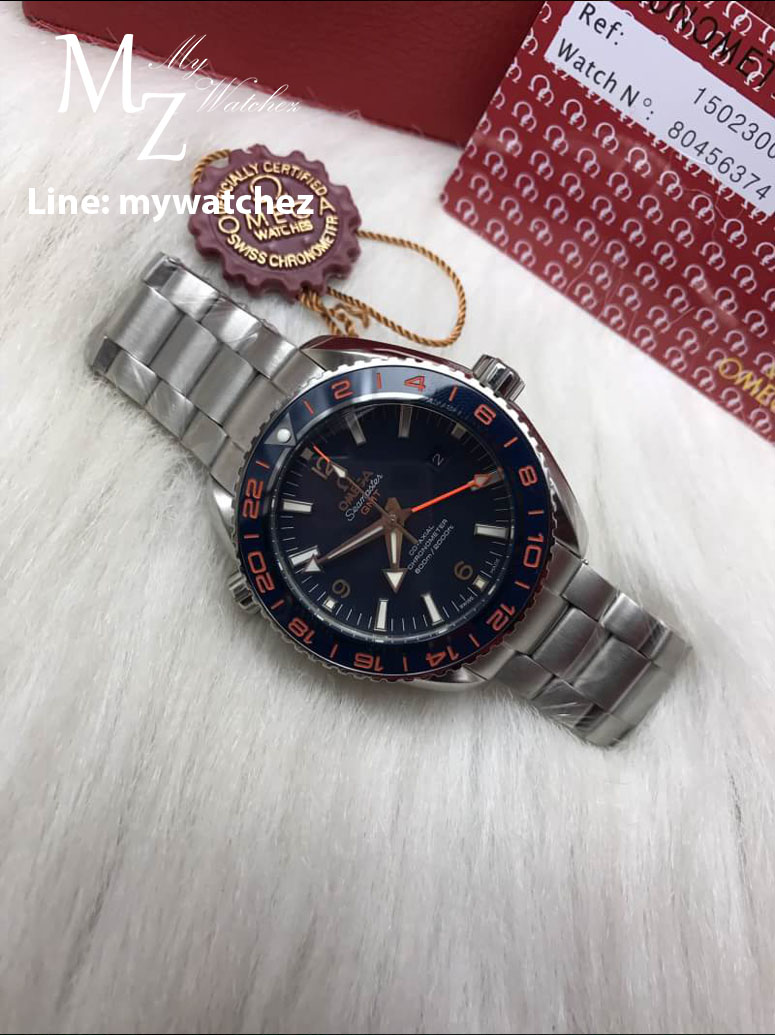 Omega Seamaster Planet Ocean 600M Co-Axial 43.5MM 'Good Planet'