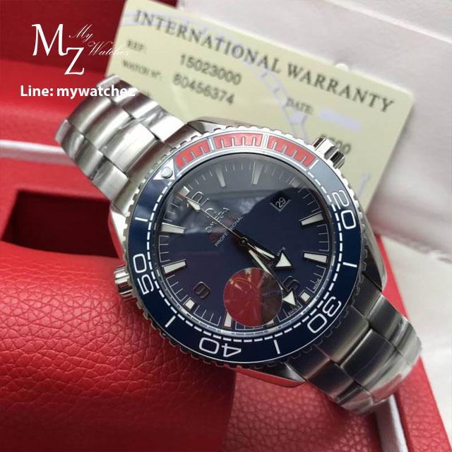 "Omega Seamaster Planet Ocean 600M Co-Axial Master Chronometer ""Pyeongchang"" 2018"