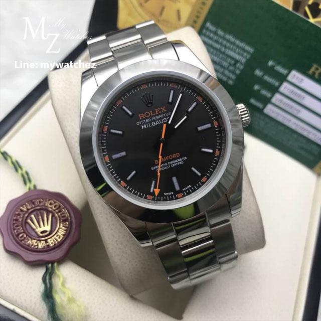 Rolex Milgauss Bamford 116400 - Black Dial