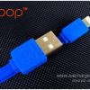 สายชาร์จไอโฟน Eloop สายแบน Lighting Cable