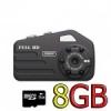 กล้อง T9000 Mini camcorder FullHD กล้องจิ๋วอินฟาเรด พร้อมเมม 8G