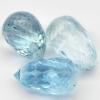 พลอยอะความาลีน (Aquamarine) พลอยธรรมชาติแท้ น้ำหนัก 4.10 กะรัต