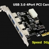 U3V900 X4 USB3.0 PCI-E CARD
