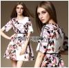 Lady Ribbon Korea Lady Ribbon's Made &#x1F380 Lady Abigail Feminine Spring Floral Printed Dress Korea