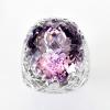 แหวนพลอยแท้ แหวนเงินแท้925 พลอยอเมทิส (Amethyst) เม็ดใหญ่สีม่วงสวย ตัวเรือนชุบทองคำขาว