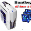 [PC Case] HuntkeyV2 USB3.0 For Gaming [ขาว]