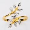 แหวนช่อมะกอก ประดับเพชร