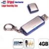 แฟลชไดร์ฟบันทึกเสียง พร้อมเมมโมรี่ 4 GB บันทึกเสียงต่อเนื่องได้ ยาวหลาย ชั่วโมง เก็บไฟล์ได้ เสียงชัดมาก