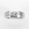 แหวนพลอยแท้ แหวนเงิน925 พลอยขาว (ไวท์โทปาส) ชุบทองคำขาว