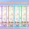 ม่านประตูกันยุง รุ่นเกรดเอ ไซส์ 100 แบบพิมพ์ลายว่าวแสนสุข 5 สี