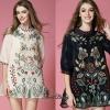Lady Ribbon Korea Closet Dress SW18060616 Sweet Bunny Present... Floral Embroidered Dress