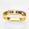 แหวนพลอยนพเก้าทองแท้ พลอยแท้