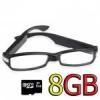 กล้องแว่นตา FullHD 1080P พร้อม เมม 8G