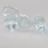 พลอยอความารีน (Aquamarine) พลอยธรรมชาติแท้ น้ำหนัก 3.85 กะรัต