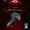หัวชาร์จในรถยนต์ Remax Alien USB 3 ช่อง 4.2A