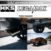 ชุดท่อ HKS LEGAMAX Titanium Tip
