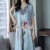 Seoul Secret Say's... Girly Bohe Style Stick&Print Outer Dress set