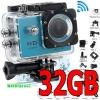กล้อง Action Camera - รุ่น SJ4000 รุ่น WIFI แท้ พร้อมเมม 32GB*