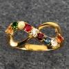 แหวนนพเก้า Infinity แหวนพลอยแท้ เพชรแท้ ตัวเรือนทองแท้