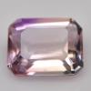 พลอยอเมทริน (Ametrine) พลอยธรรมชาติแท้ น้ำหนัก 3.30 กะรัต