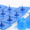 หมุดติดม่านกันยุงแบบเทปกาวสองหน้า(หมุดเทป) สีฟ้า