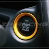 แหวนครอบปุ่ม Start CX-3 สีทอง