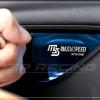 เบ้ารองมือเปิดด้านใน MAZDASPEED สีน้ำเงิน Mazda 3