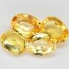 พลอยบุษราคัม (Yellow Sapphire) พลอยธรรมชาติแท้ น้ำหนัก 0.95 กะรัต