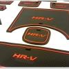 ชุดยางรองหลุม HR-V สีแดง