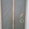 ม่านประตูกันยุงคุณภาพ Hi-end แบบสีล้วน สีครีม มี 2 ขนาด
