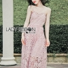 Lady Jane Baby Pink Lace Single Dress