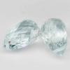 พลอยอความารีน (Aquamarine) พลอยธรรมชาติแท้ น้ำหนัก 3.55 กะรัต