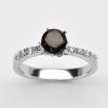 แหวนพลอยแท้แหวนเงิน925 พลอย ควอตซ์ ประดับเพชร CZ ชุบทองคำขาว