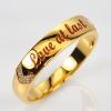 แหวนทอง สลักอักษร