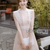 Alice Feminine Lady Ribbon Lace Dress